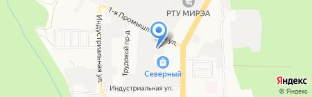 Инженерно-технический центр на карте Ставрополя