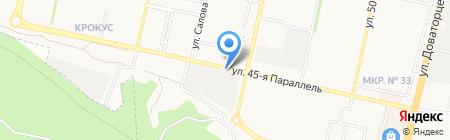 Рубеж на карте Ставрополя