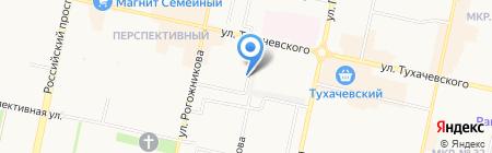 ГРАФИКА на карте Ставрополя