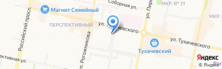 Легион на карте Ставрополя