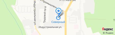 Ягуар К на карте Ставрополя