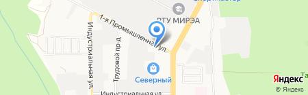 Гедон-Моторс на карте Ставрополя