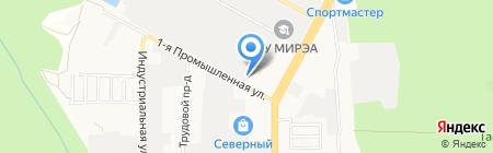 Полюс на карте Ставрополя