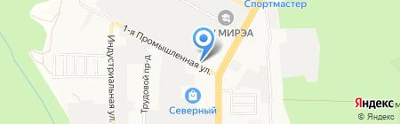 Гипермаркет диванов ROM на карте Ставрополя