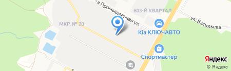 Ампер на карте Ставрополя
