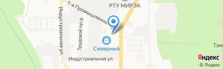 Обойкин на карте Ставрополя
