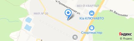Электротехническая компания Дикси на карте Ставрополя