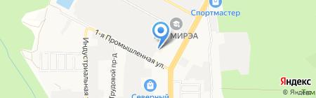 Стекломонтаж на карте Ставрополя