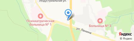 Храм Святого Преподобного Сергия Игумена Радонежского и Святого Великомученика Георгия Победоносца на карте Ставрополя