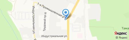Мир дверей на карте Ставрополя