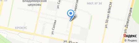 КЛЮЧ К ЗДОРОВЬЮ на карте Ставрополя