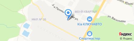 Кухни+ на карте Ставрополя