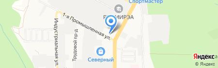 Мебель Сити на карте Ставрополя