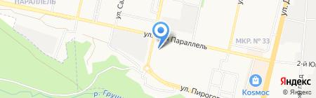 Кадастровая фирма на карте Ставрополя