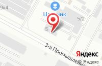 Схема проезда до компании Регионстрой в Ставрополе