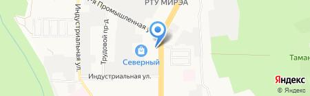 ЮГАССИСТ на карте Ставрополя