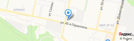 Спец замок на карте Ставрополя