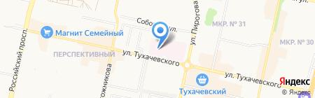 Родильный дом на карте Ставрополя