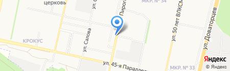 Paradise на карте Ставрополя