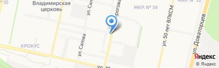 АлкоМаркет на карте Ставрополя