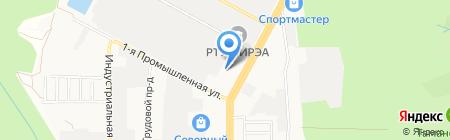 Центр управления в кризисных ситуациях на карте Ставрополя