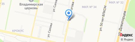Шериф на карте Ставрополя