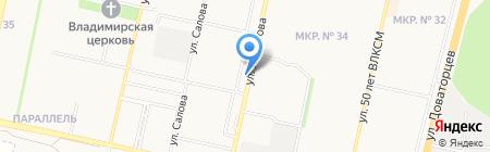 Intorg на карте Ставрополя