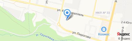 САТОН-ТУР на карте Ставрополя