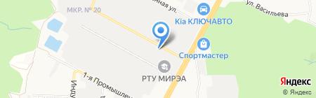 Электро-2 на карте Ставрополя