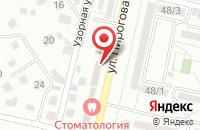 Схема проезда до компании Импульс-Ск в Ставрополе