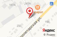Схема проезда до компании Рассказовская Передвижная Механизированная Колонна N2 в Рассказово