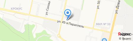 ПРОГРЕСС НОУ ДПО на карте Ставрополя