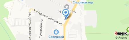 Планета Суши на карте Ставрополя