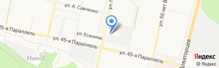 Открытие на карте Ставрополя