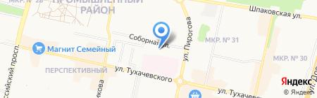 Приходской дом на карте Ставрополя