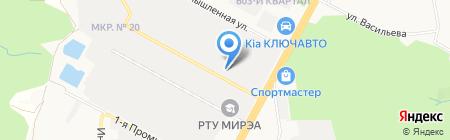 Строительный холдинг на карте Ставрополя