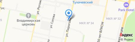 Лига на карте Ставрополя
