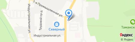 Консалтинг СК на карте Ставрополя