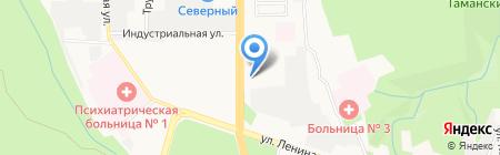 Mercedes-Benz на карте Ставрополя