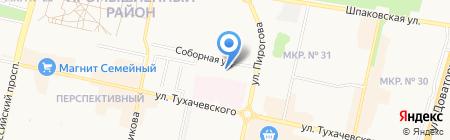 Больничный Храм Святого Великомученика и Целителя Пантелеймона на карте Ставрополя