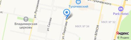 УниверсалАвто на карте Ставрополя