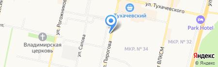 А``мебельЭР на карте Ставрополя