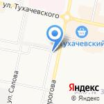 Пеликан на карте Ставрополя