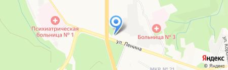 Газпромбанк на карте Ставрополя