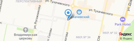 Наш магазин на карте Ставрополя