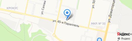 Тепло Инком на карте Ставрополя