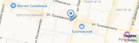 Межведомственный центр спортивной подготовки на карте Ставрополя