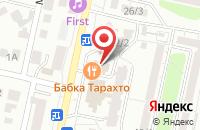 Схема проезда до компании РС-Сервис в Ставрополе