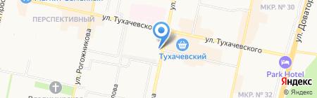 Мир Стекла на карте Ставрополя