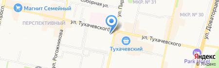Радио Хит FM на карте Ставрополя